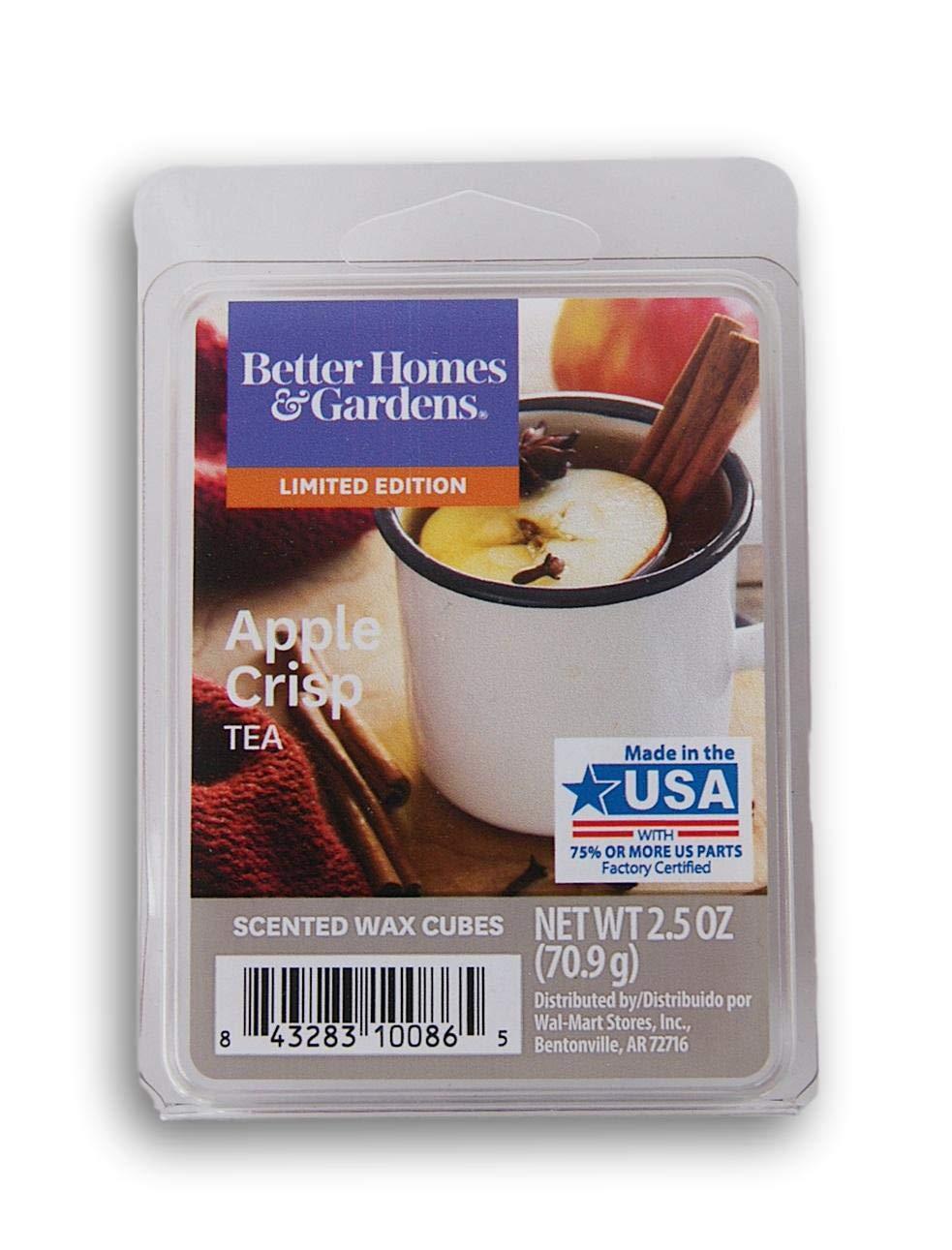 Better Homes /& Gardens Crisp Tea 2018 Limited Edition Wax Cubes Better Homes and Gardens