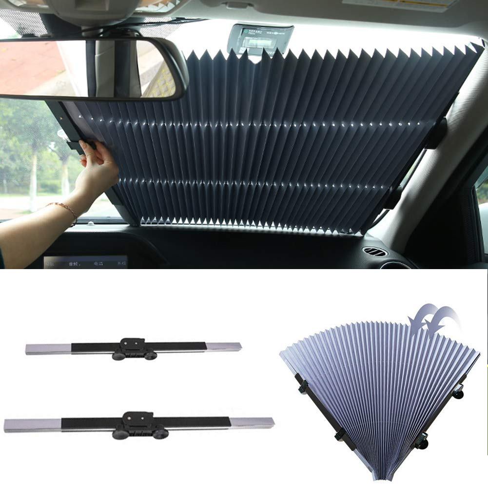 Pare-soleil de voiture 1 pare-brise automatique r/étractable pliable pour pare-brise camion etc. SUV