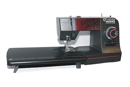 Toyota Super Jeans Máquina de coser Super J26 PE con grandes Zona de trabajo