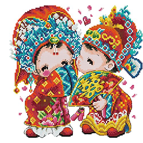 [Chinese Wedding]DIY Cross-Stitch 11CT Embroidery Kits Wedding ()