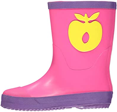 Pink Apfel Lila Gummistiefel Mädchen Smafolk 8nO0wkP
