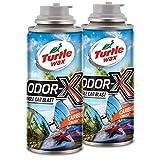 Turtle Wax 50831 Power Out Odor-X Caribbean Crush Whole Car Blast, 2-Pack, 4. Fluid_Ounces