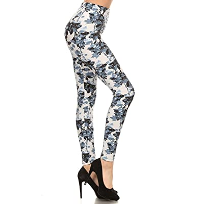 Leggings Depot Extra Plus Women's Best Selling Buttery Soft Popular Prints BAT24