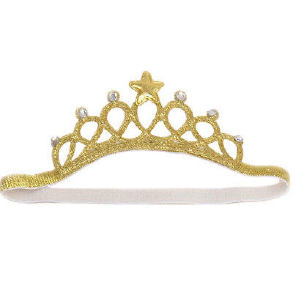 Beige Cloud Kids Baby Princess Crown 1 Jahr Geburtstag Haarband M/ädchen Blume Krone Stirnband Haarschmuck