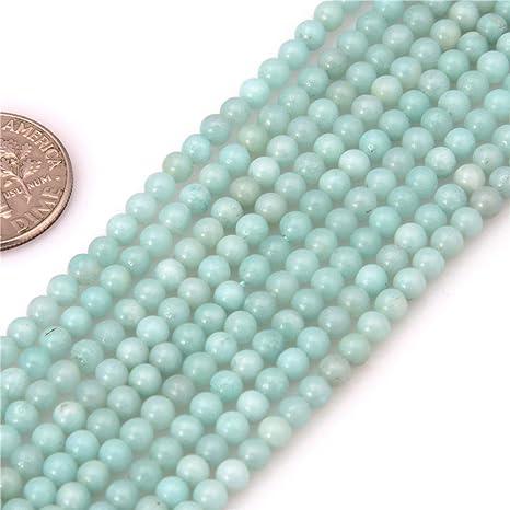 Amazonite Round Beads 3mm Turquoise 100 Pcs Gemstones Jewellery Making Crafts