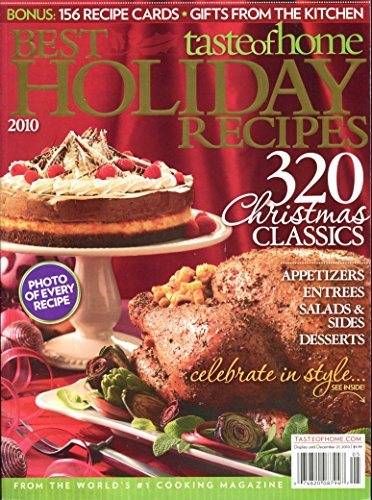 Taste of Home Best Holiday Recipes 2010 (Best Holiday Recipes 2010)