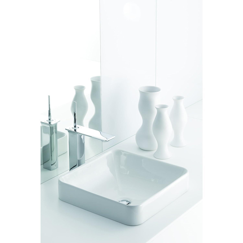 KOHLER K-14761-4-CP Stance Single-Control Tall Lavatory Faucet ...