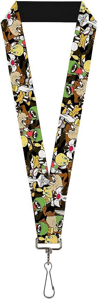 Buckle-Down Mens Lanyard-Looney Tunes Standard Multicolor