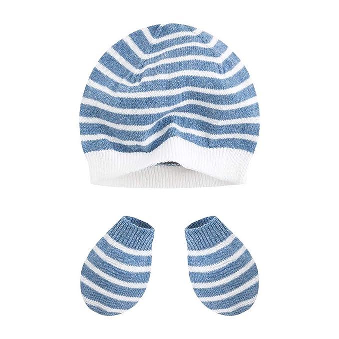 Canada House pack gorro con manoplas recién nacido minipuc, talla M ...