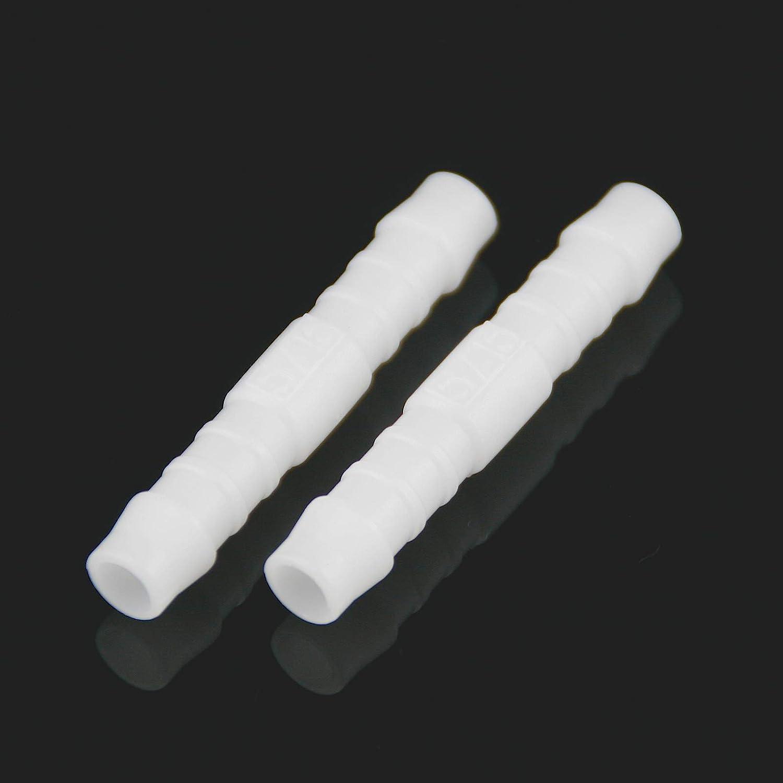 2X Benzin-Schlauchverbinder I-Form weiß 8mm KSOH Products