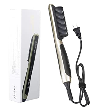 Amazon.com: Garberiel Plancha para el cabello, cepillo ...