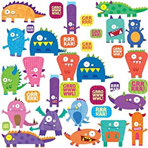 RoomMates Repositionable Childrens Wall Stickers Monsters Part 84