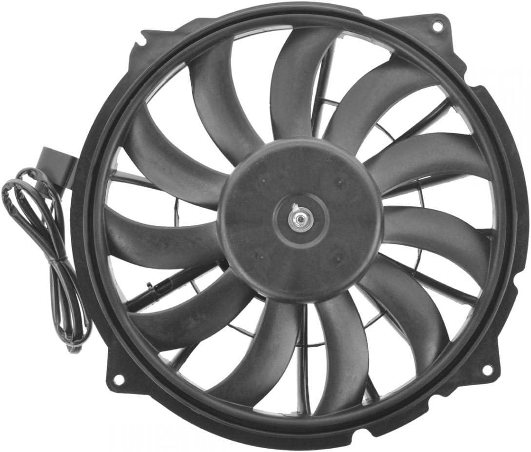 Radiator Cooling Fan Left LH Driver Side Blade Motor Shroud for Audi RS4 S4 4.2L