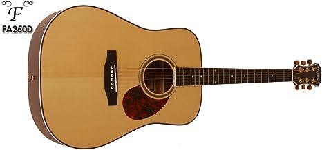 Freshman fa250d sólido Guitarra Acústica Dreadnought: Amazon.es ...
