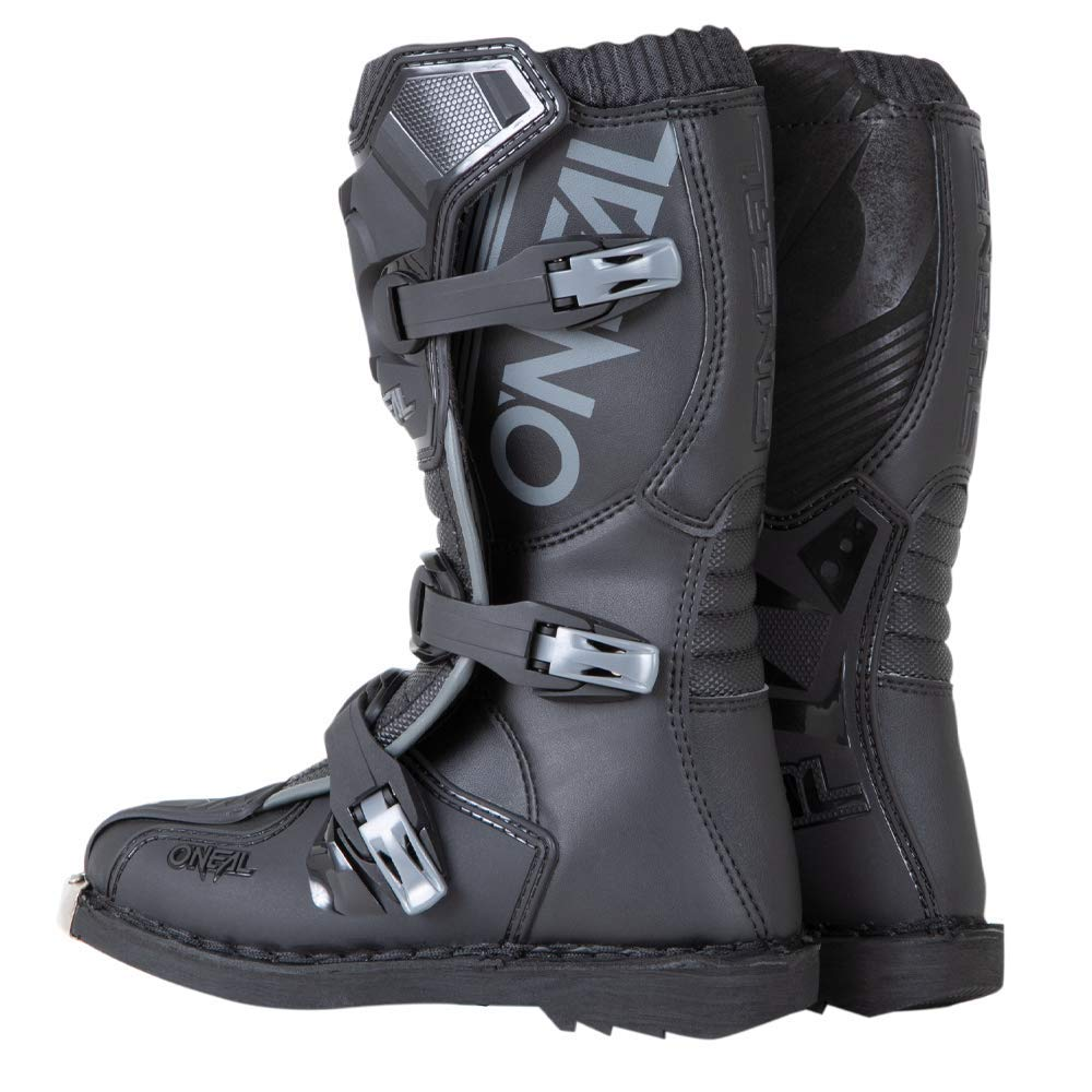 Black, 6 ONeal Unisex-Child Dirtbike Boots