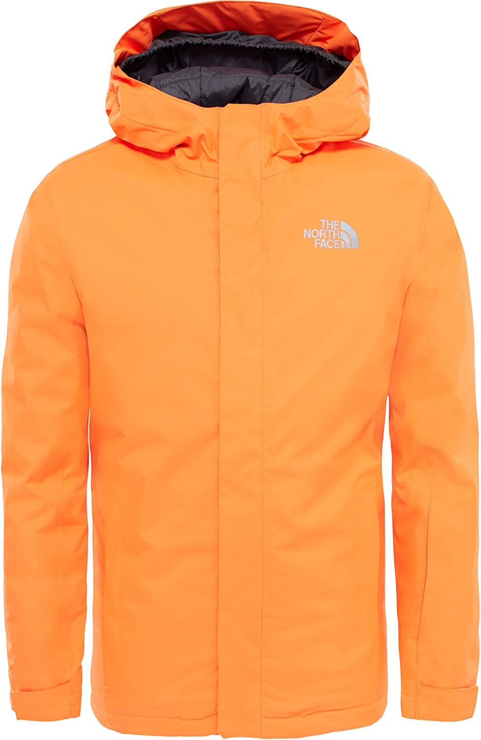 79f8d4428 closeout the north face y snowquest jacket rocket red 05923 2812e