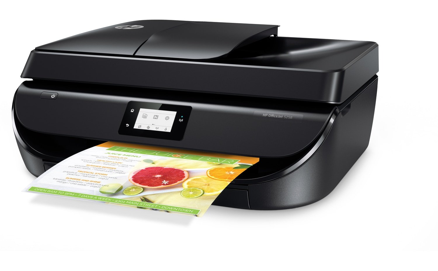 HP OfficeJet 5258 All-in-One Printer With Mobile Printing, Instant Ink Ready (Certified Refurbished)