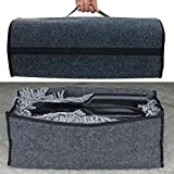 Mxoza Car SUV Rear Cargo Trunk Storage Box Organizer Holder Collapsible Bag Foldable Portable for bmw mazda audi ford toyota kia vw