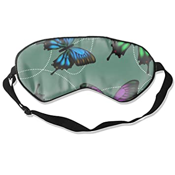 Silk Eye Mask Butterflies