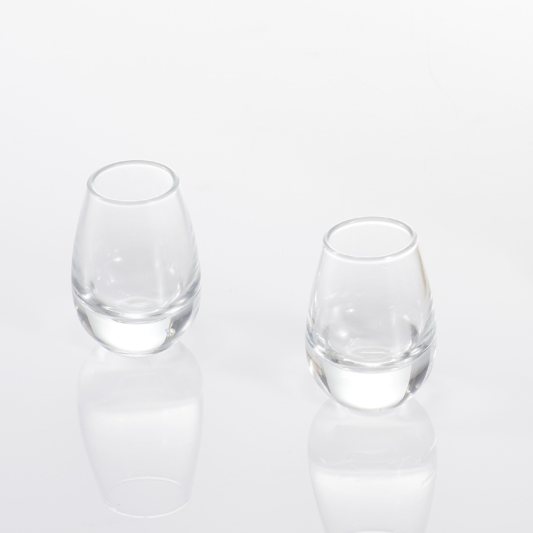 ZENS Sake Cups Set, 2 Pieces High Borosilicate Glass Cup 1.4OZ/40ML, Perfect for Sake Wine Liquor