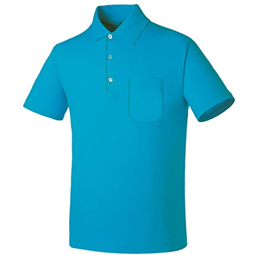 494fa504c myglory77mall Mens Pocket Cotton Blended Polo Collared Plain tshirt Top Tee  US XXS(S tag