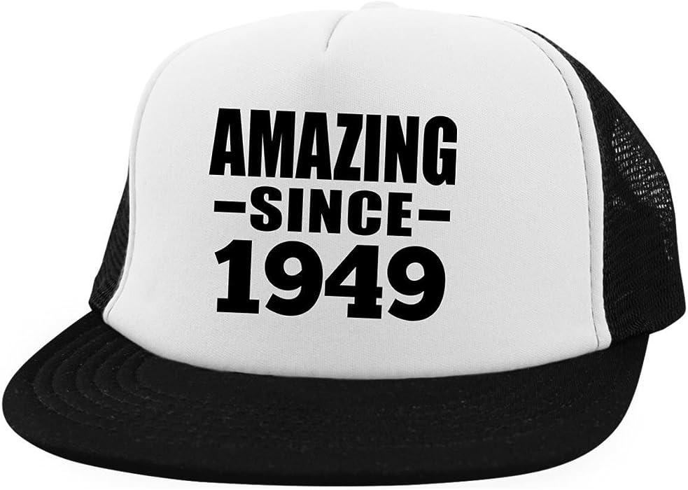 Amazon Birthday Hat Amazing Since 1949 Trucker Hat