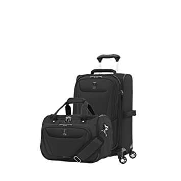 159863cb95ae Travelpro Luggage Maxlite 5 | 2-Piece Set | Soft Tote and 21-Inch Spinner  (Black)