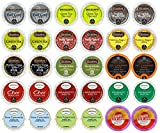30-count TOP BRAND TEA Variety Sampler Pack, Single-Serve Cups for Single Cup Brewers (2.0 Compatible)