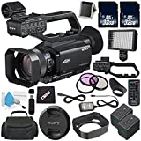 Sony HXR-NX80 Full HD XDCAM with HDR & Fast Hybrid AF + NP-FV70 Replacement Lithium Ion Battery + 32GB SDHC Class 10 Memory Card + 62mm 3 Piece Filter Kit + Carrying Case + Memory Card Wallet Bundle