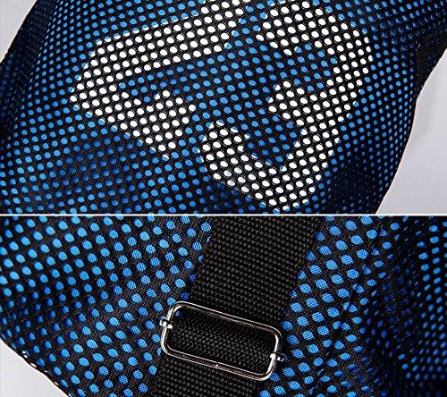 ALUK- Bundle de lazo del bolso de hombro hombres y las mujeres del baloncesto ocasional Maleta de Mano ( Color : Verde ) Azul