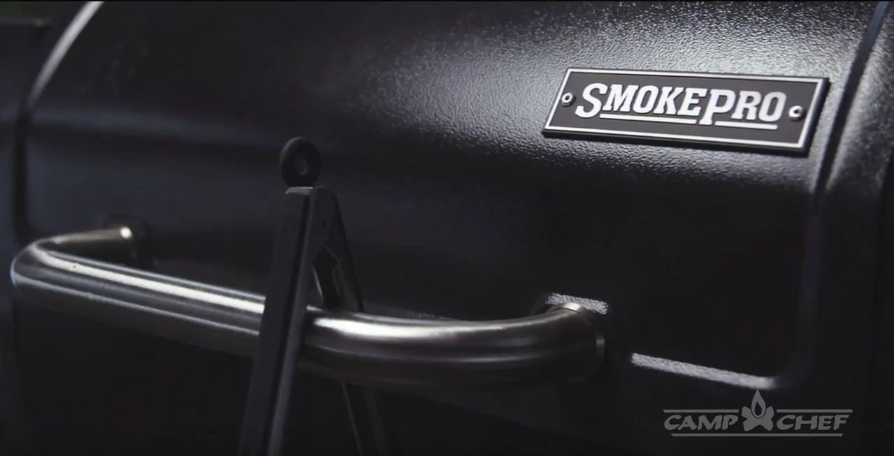 Camp Chef SmokePro SG Wood Pellet Grill Smoker, Black PG24SG