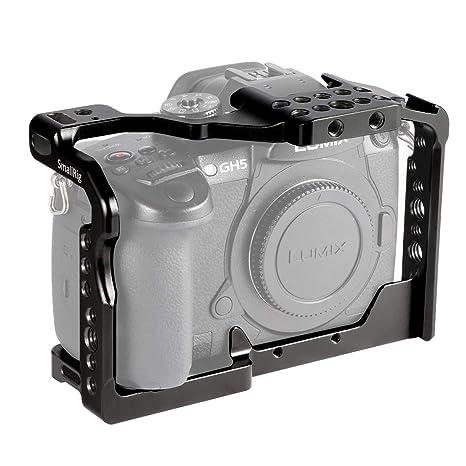SMALLRIG GH5 Cage Jaula para Panasonic Lumix GH5 / GH5S: Amazon.es ...
