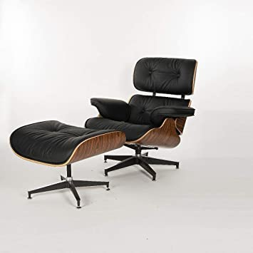 MLF® 100% la réplica de Eames Lounge Chair & ottoman (5 colores