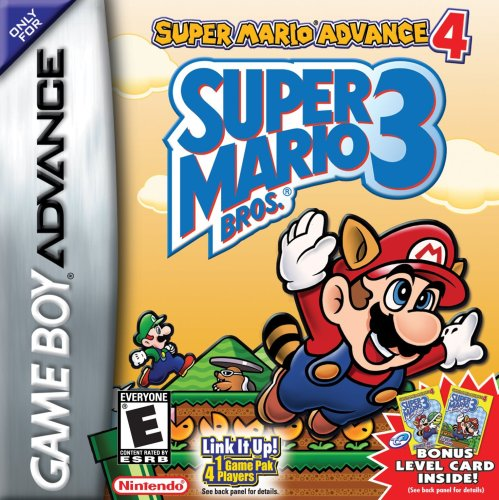 Super Mario Advance 4: Super Mario Bros 3 (Gameboy Advance Sp Play Gameboy Color Games)