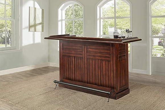 Hillsdale Furniture Hillsdale Classic Bar, Large, Oak finish,