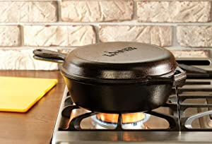 Lodge-3-Quart-Cast-Iron-Combo-Cooker-Dutch-Oven-and-Convertible-Skillet