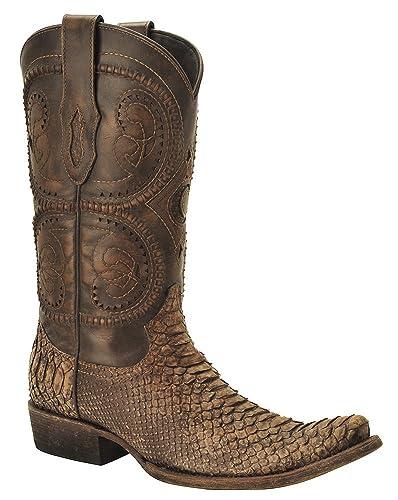 62b2c61bb6c Cuadra Urban Python Western Boots 1J35PH
