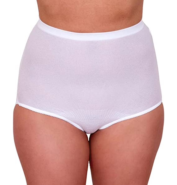 b261a06c92856 Body Force Women's High-Waist Brief Underwear (3-pack) Size 11-14 White at Amazon  Women's Clothing store: