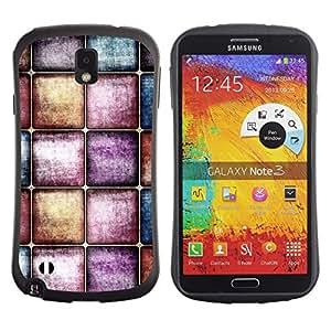 Suave TPU GEL Carcasa Funda Silicona Blando Estuche Caso de protección (para) Samsung Note 3 / CECELL Phone case / / Wallpaper Modern Art Random Interior Design /