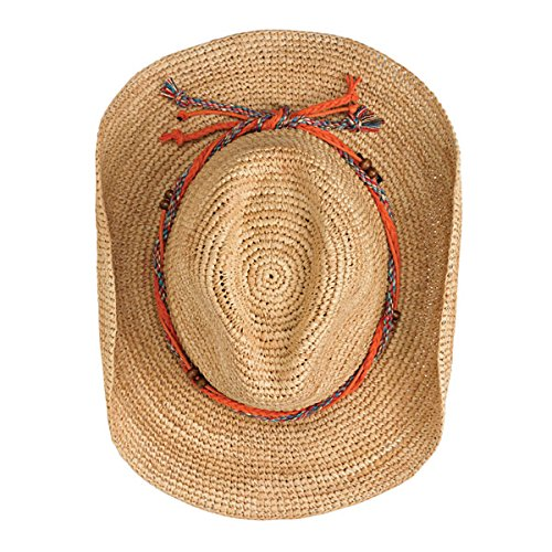 Wallaroo Women's Catalina Cowboy Sun Hat - Stylish Sun Protection, Natural