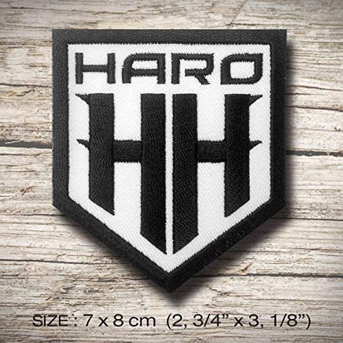 HARO HH BMX Bicycle Bike Ride Sport Extreme T parche patch bordado ...