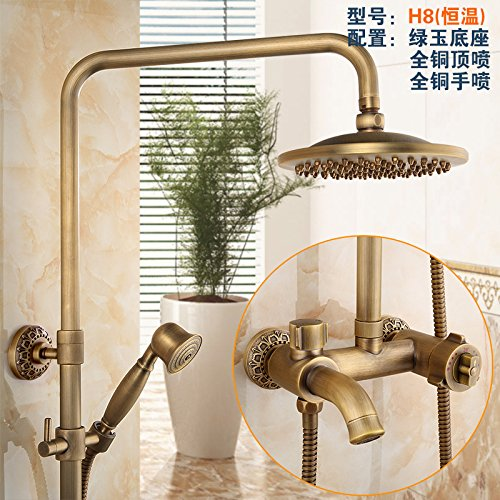 P5( With Maternal Wash) NewBorn Faucet Kitchen Or Bathroom Sink Mixer Tap All Copper Antique Water Tap S Antique Elevator Shower Large Shower Water Tap Kit Gy859B8