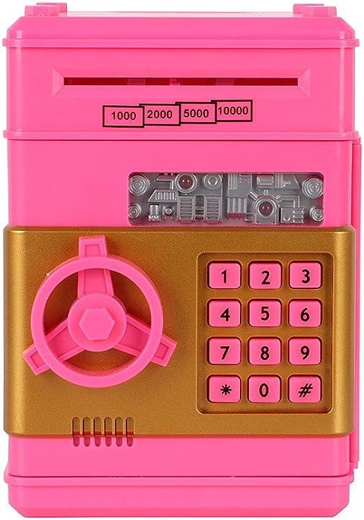 Yusun Hucha caja fuerte Hucha lockbox simulación ATM cerradura ...