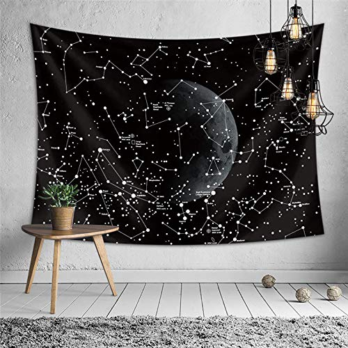 Sandeye Tapestry Wall Hanging Psychedelic Small Wall Tapestry Hippie Bohemian Magical Mysterious Indian Wall for Bedroom Living Room Dorm Decor (3# Pattern, L/59.1