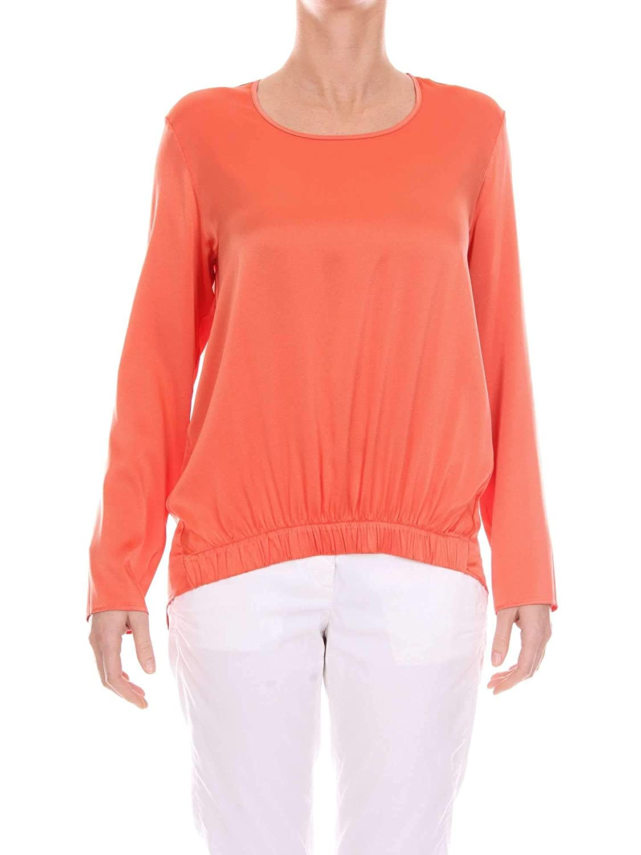 Kangra Women's 8EA59602669400058 orange Polyester Jumper