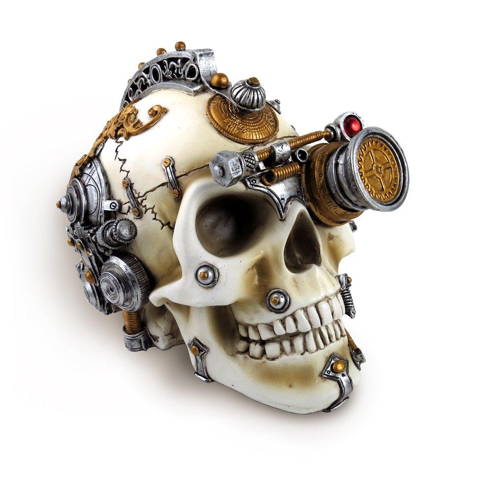 The Vault Halloween Party Erasmus Darwins Steam-Cerebrum Skull Alchemy of England V4