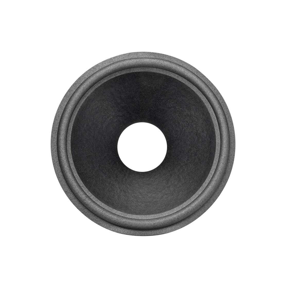 uxcell 10'' Paper Speaker Cone Subwoofer Drum Dot Paper 2.5'' Coil Diameter with Foam Surround