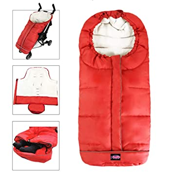 5 Way Zippers Style For Baby Easy In /& Out Height Adjustable German Designed Stroller Footmuff