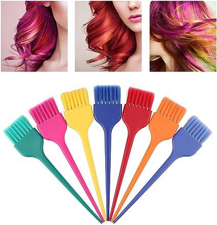 Sistema de cepillo del tinte de pelo, cepillos del colorante ...