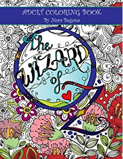 The Wizard Of Oz Adult Coloring Book Enchanted Books Volume 2